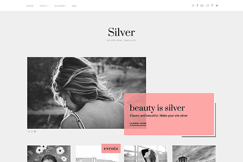 TEma Silver ThemeJunkie - TEmplate WordPress