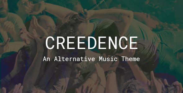 Tema Creedence - Template WordPress