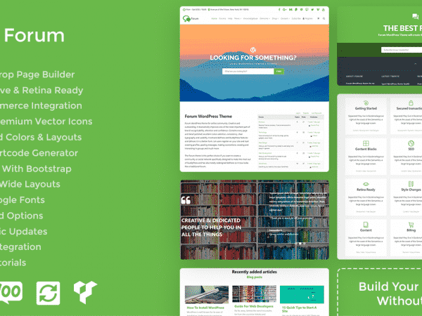 Tema Forum - Template WordPress