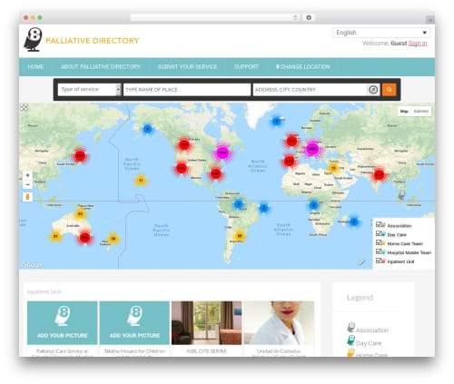 Tema Geodirectory Framework - Template WordPress