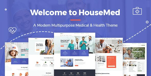 Tema HouseMed - Template WordPress