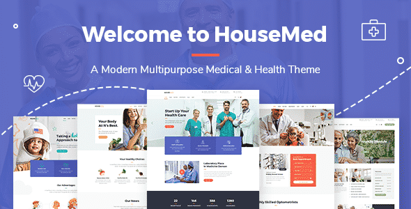 Tema HouseMed - Template WordPress