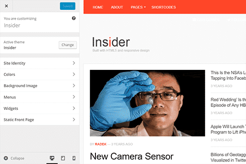 Tema Insider - Template WordPress