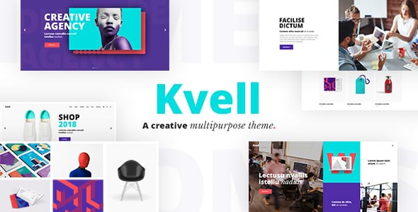 Tema Kvell - Template WordPress