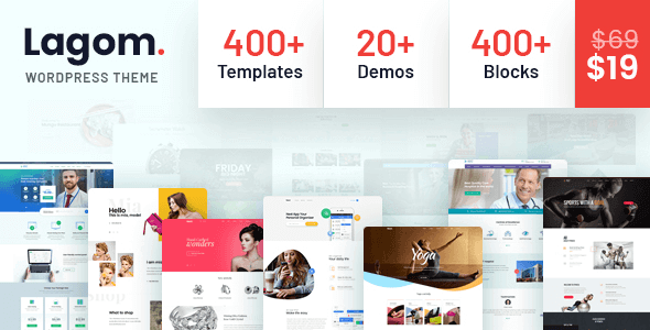 Tema Lagom - Template WordPress