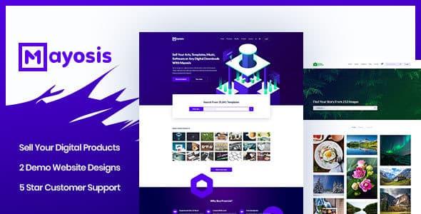 Tema Mayosis - Template WordPress