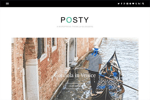 Tema Posty - Template WordPress