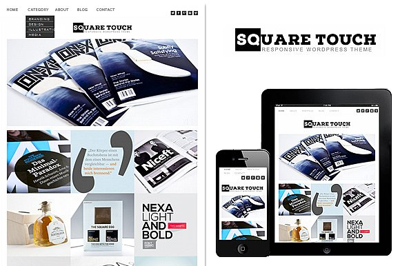 Tema Square Touch - Template WordPress