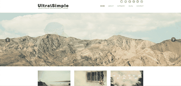 Tema UltraSimple - Template WordPress
