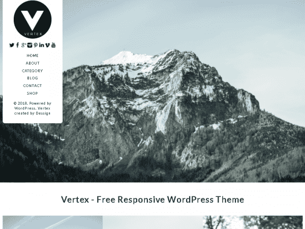 Tema Vertex Premium - Template WordPress