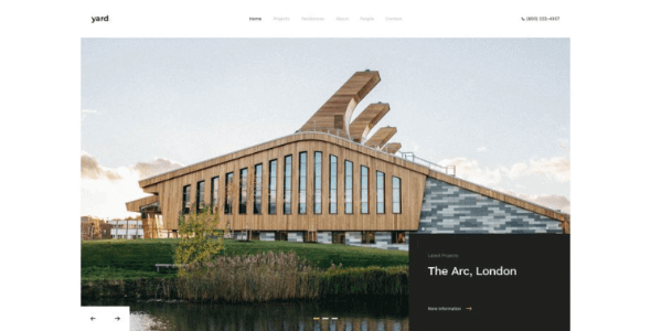 Tema Yard - Template WordPress
