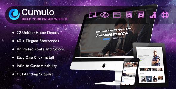 Tema Cumulo - Template WordPress