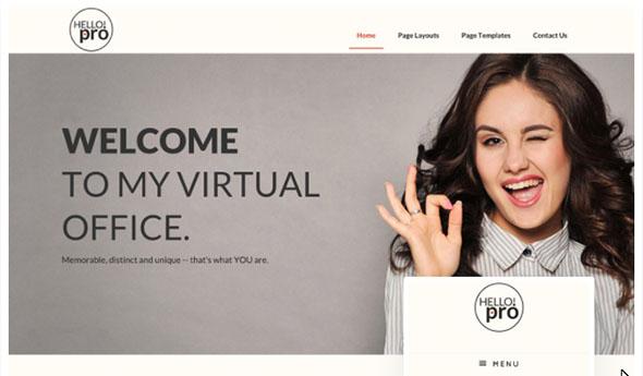 Tema Hello Pro 2 - Template WordPress