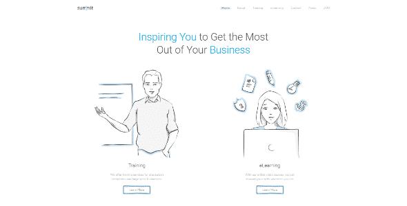 Tema Summit - Template WordPress
