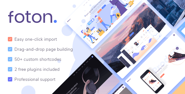 Tema Foton - Template WordPress