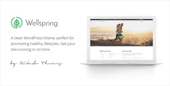 Tema Wellspring - Template WordPress