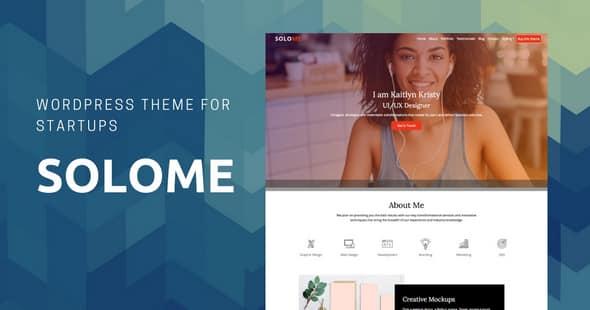 Tema Solome - Template WordPress