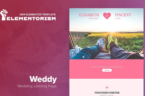 Tema Weddy - Template WordPress