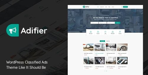 Tema Adifier - Template WordPress