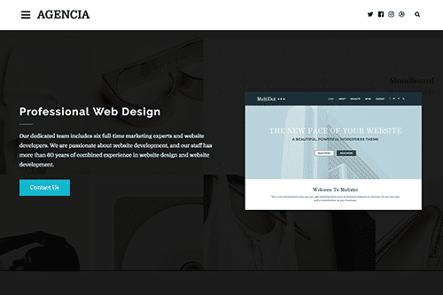 Tema Agencia - Template WordPress