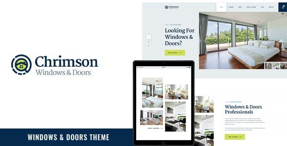 Tema Chrimson - Template WordPress