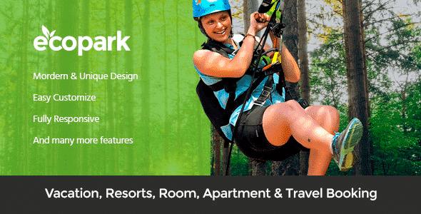 Tema Ecopark - Template WordPress