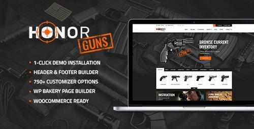 Tema Honor - Template WordPress