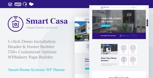 Tema Smart Casa - Template WordPress
