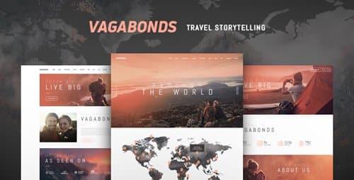 Tema Vagabonds - Template WordPress