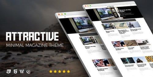 Tema Attractive - Template WordPress
