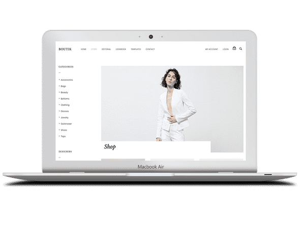 Tema Boutik - Template WordPress