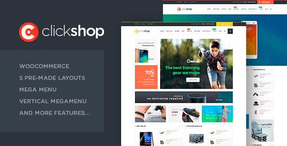 Tema ClickShop - Template WordPress