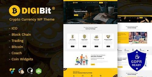 Tema DigiBit - Template WordPress