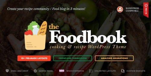 Tema Foodbook - Template WordPress