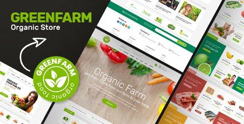 Tema Greenfarm - Template WordPress