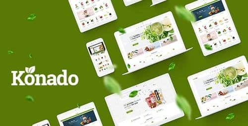 Tema Konado - Template WordPress