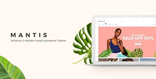 Tema Mantis - Template WordPress