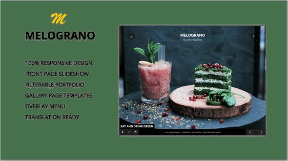 Tema Melograno - Template WordPress