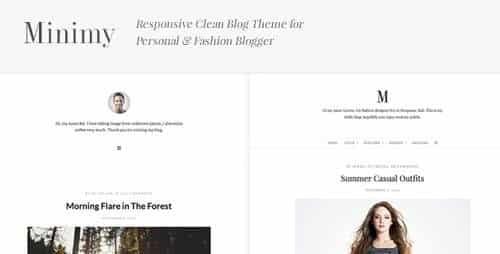 Tema Minimy - Template WordPress