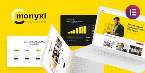 Tema Monyxi - Template WordPress