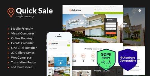 Tema Quick Sale - TEmplate WordPress