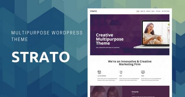 Tema Strato - Template WordPress
