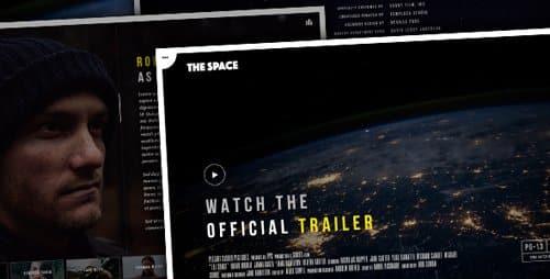 Tema The Space - Template WordPress