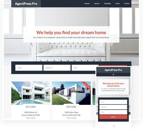 Tema AgentPress Pro - Template WordPress