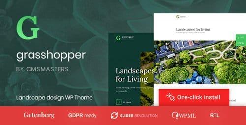 Tema Grasshopper - Template WordPress
