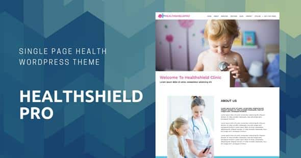 Tema HealthShield Pro - Template WordPress