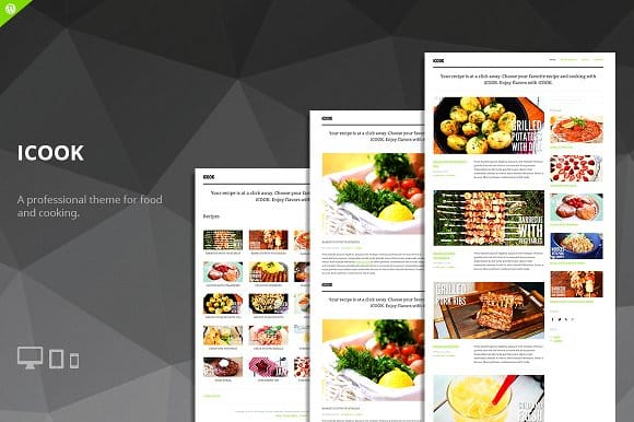 Tema Icook - Template WordPress