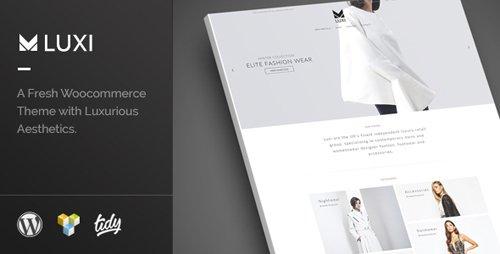 Tema Luxi - Template WordPress
