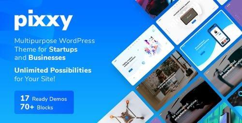 Tema Pixxy - Template WordPress