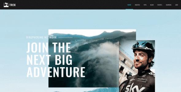 Tema Trek - Template WordPress